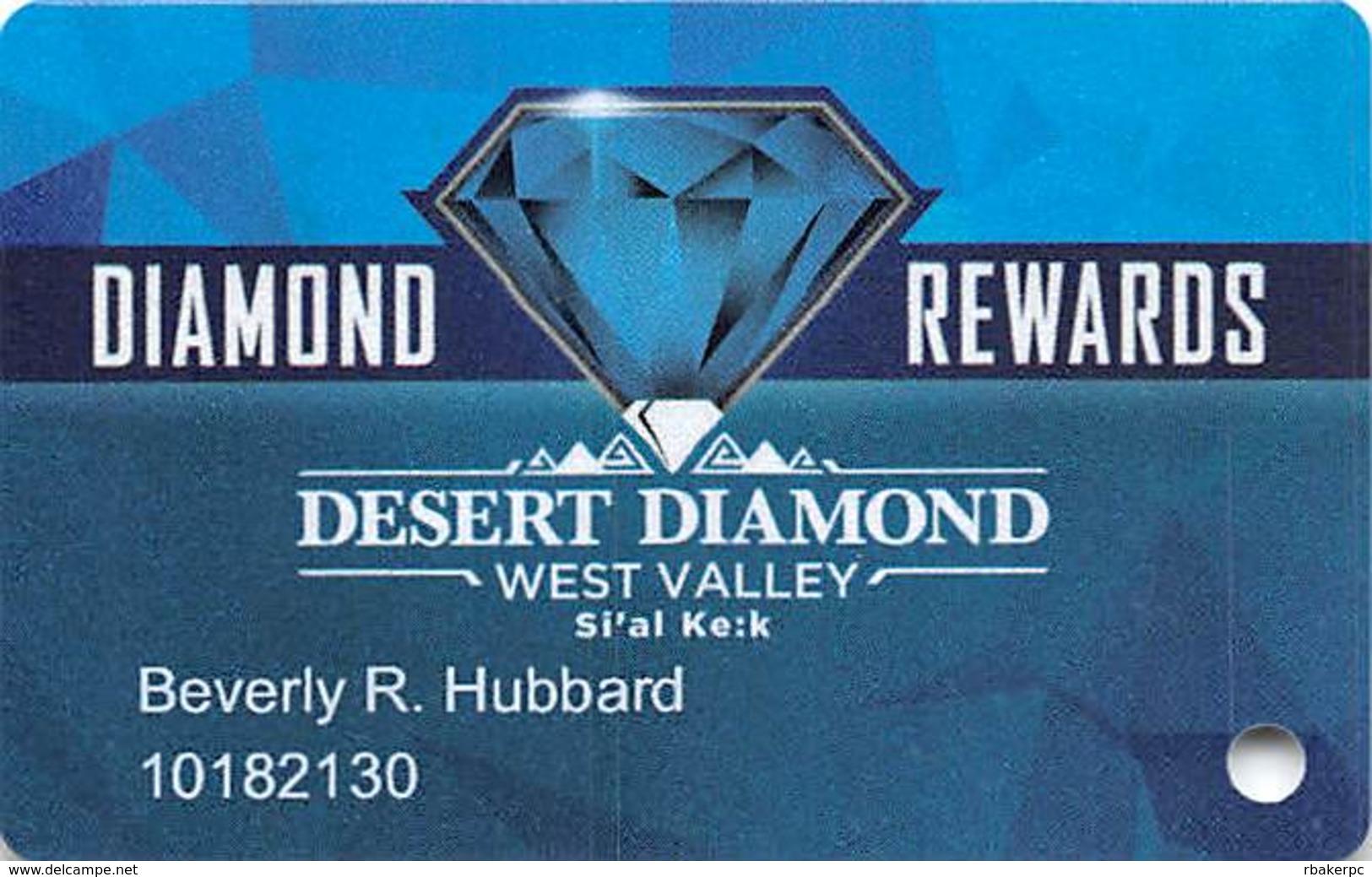Desert Diamond West Valley Casino - Glendale, AZ - Slot Card - Casino Cards