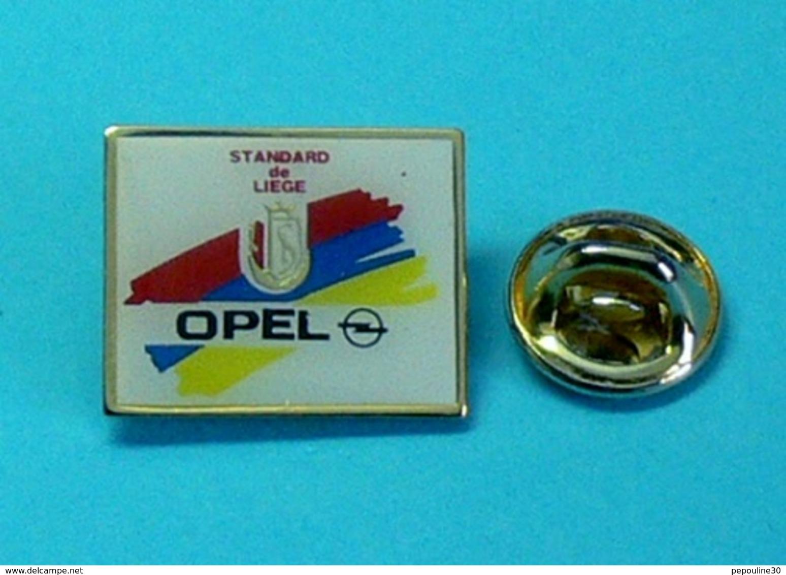 1 PIN'S //   ** FANION DU CLUB / STANDARD DE LIÈGE / OPEL ** - Opel