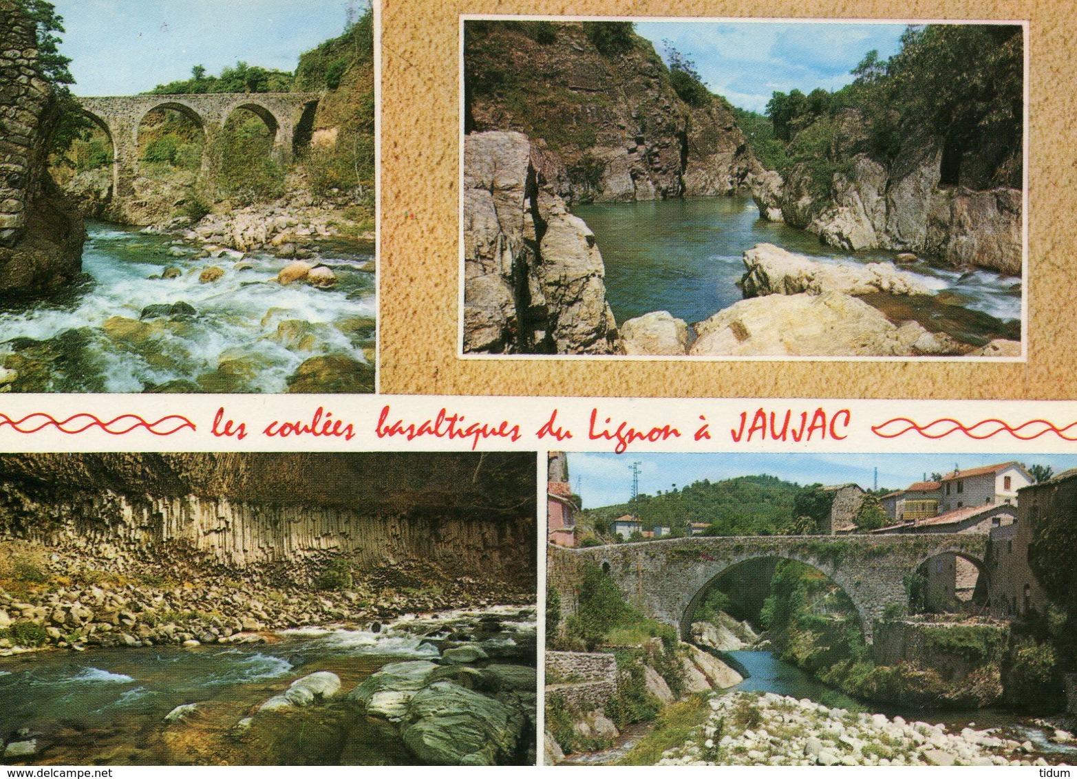 07 - JAUJAC - Les Coulées Basaltiques. Multi-vues - France