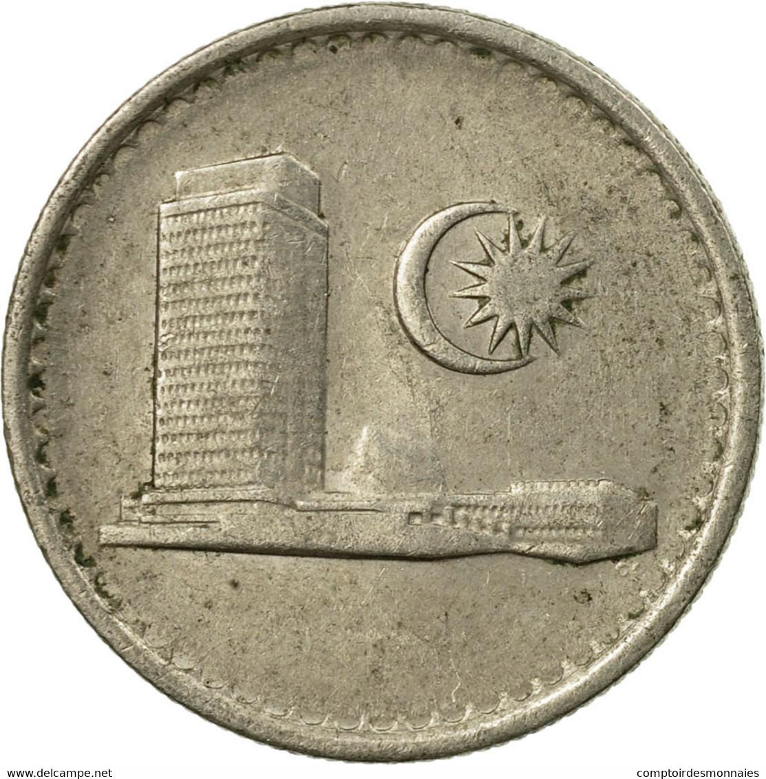 Monnaie, Malaysie, 10 Sen, 1978, Franklin Mint, TTB, Copper-nickel, KM:3 - Malaysie