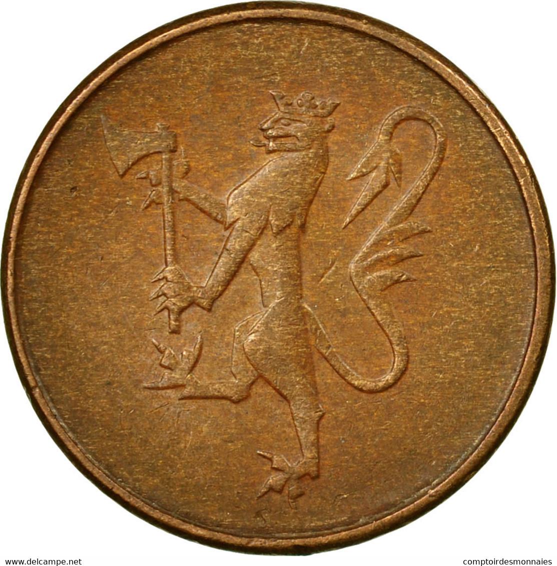 Monnaie, Norvège, Olav V, 5 Öre, 1979, TTB, Bronze, KM:415 - Norvège