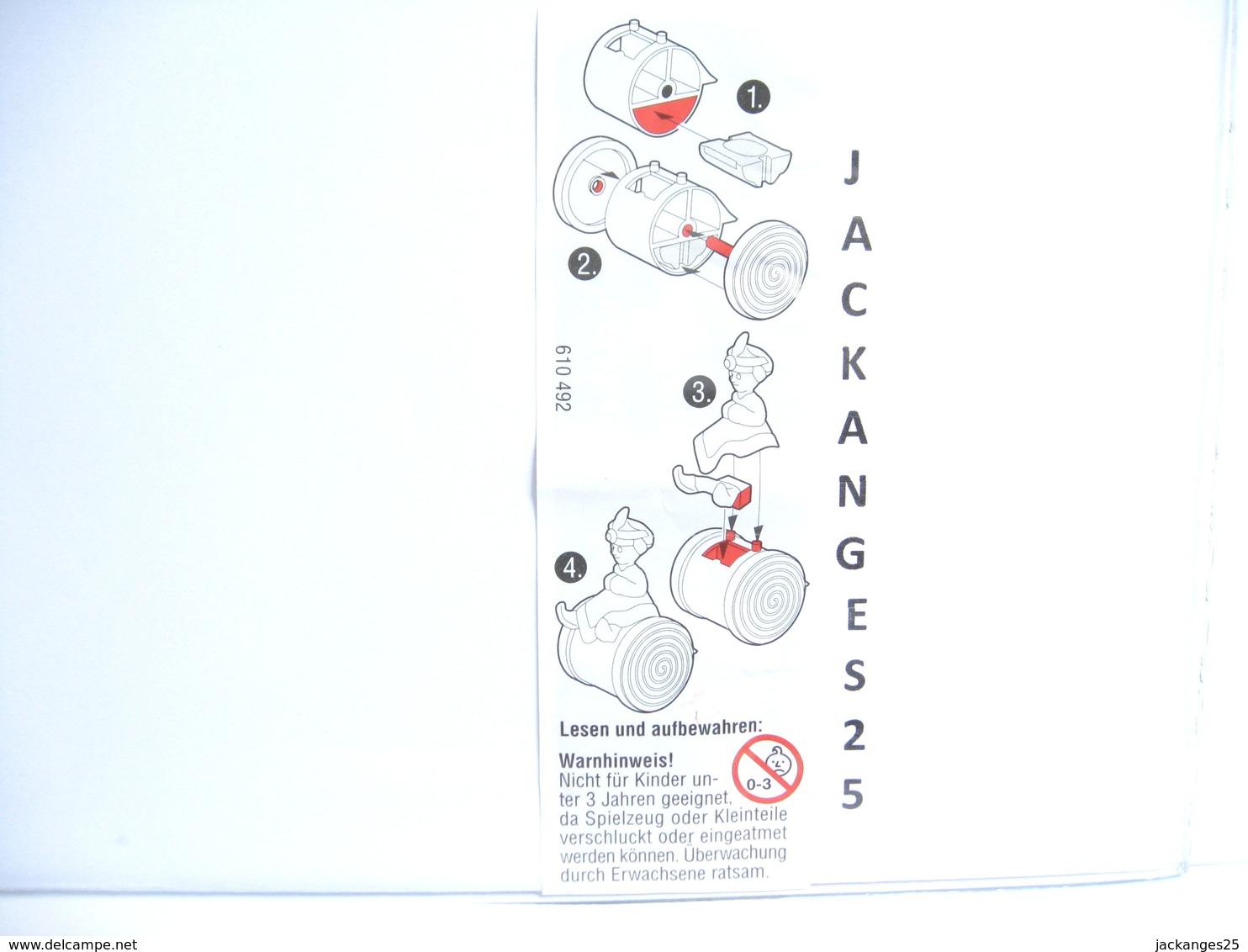 KINDER ALLEMAND  610492 2001 + BPZ D - Inzetting