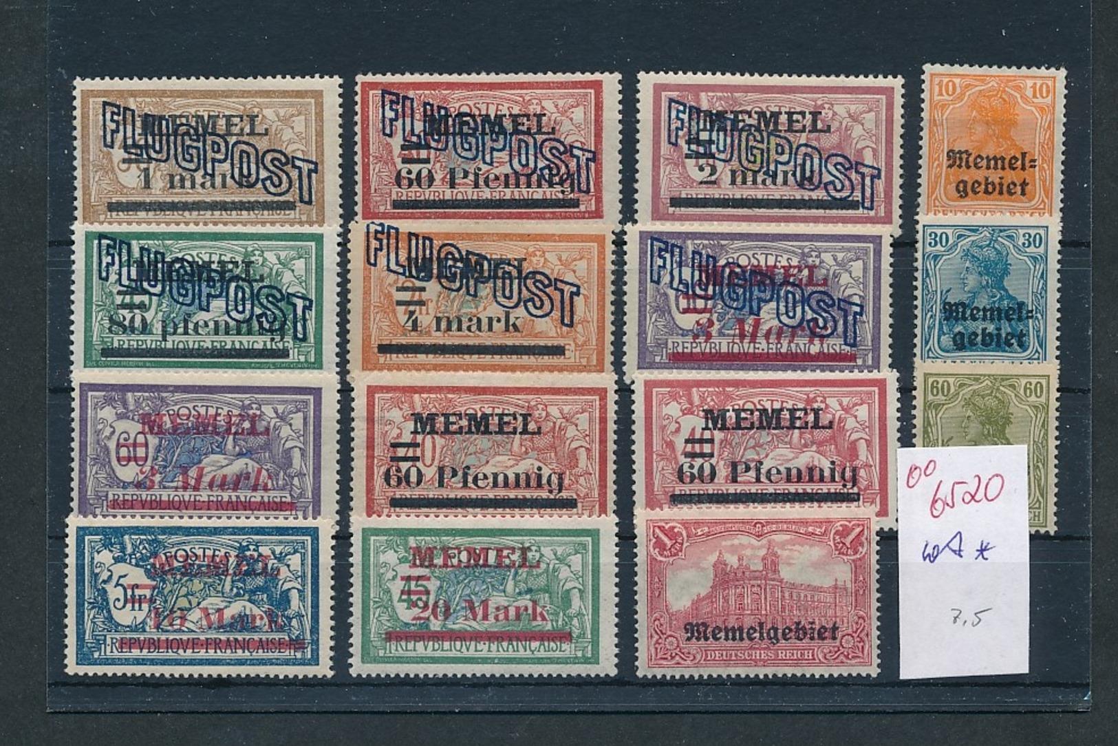 Memel Lot ...diverse...    (oo6520  ) Siehe Scan - Klaipeda
