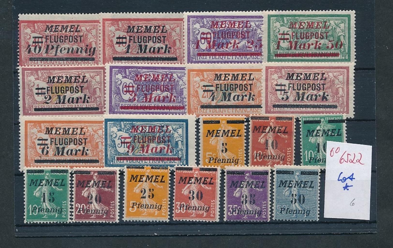 Memel Lot ...diverse...    (oo6522  ) Siehe Scan - Klaipeda