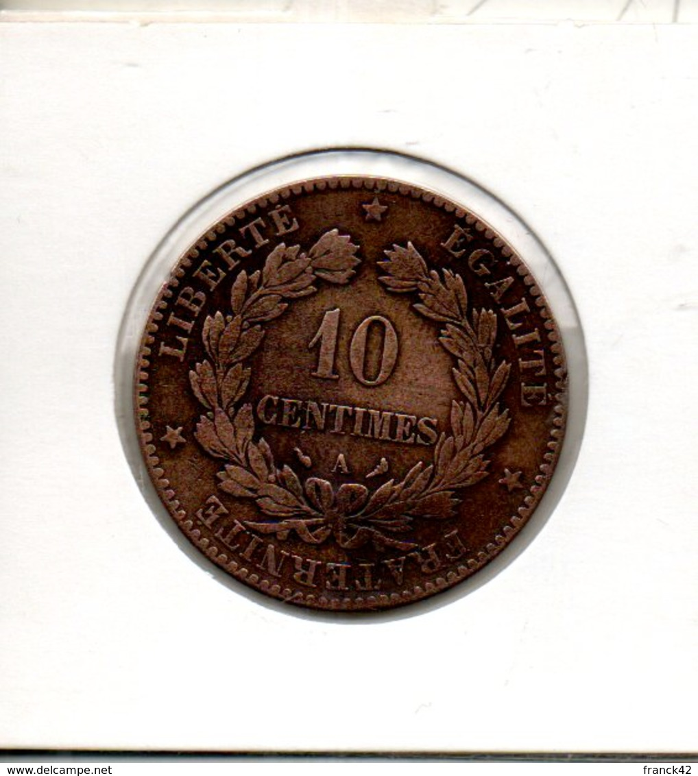 France. 10 Centimes. Ceres. 1897 A Torche - France