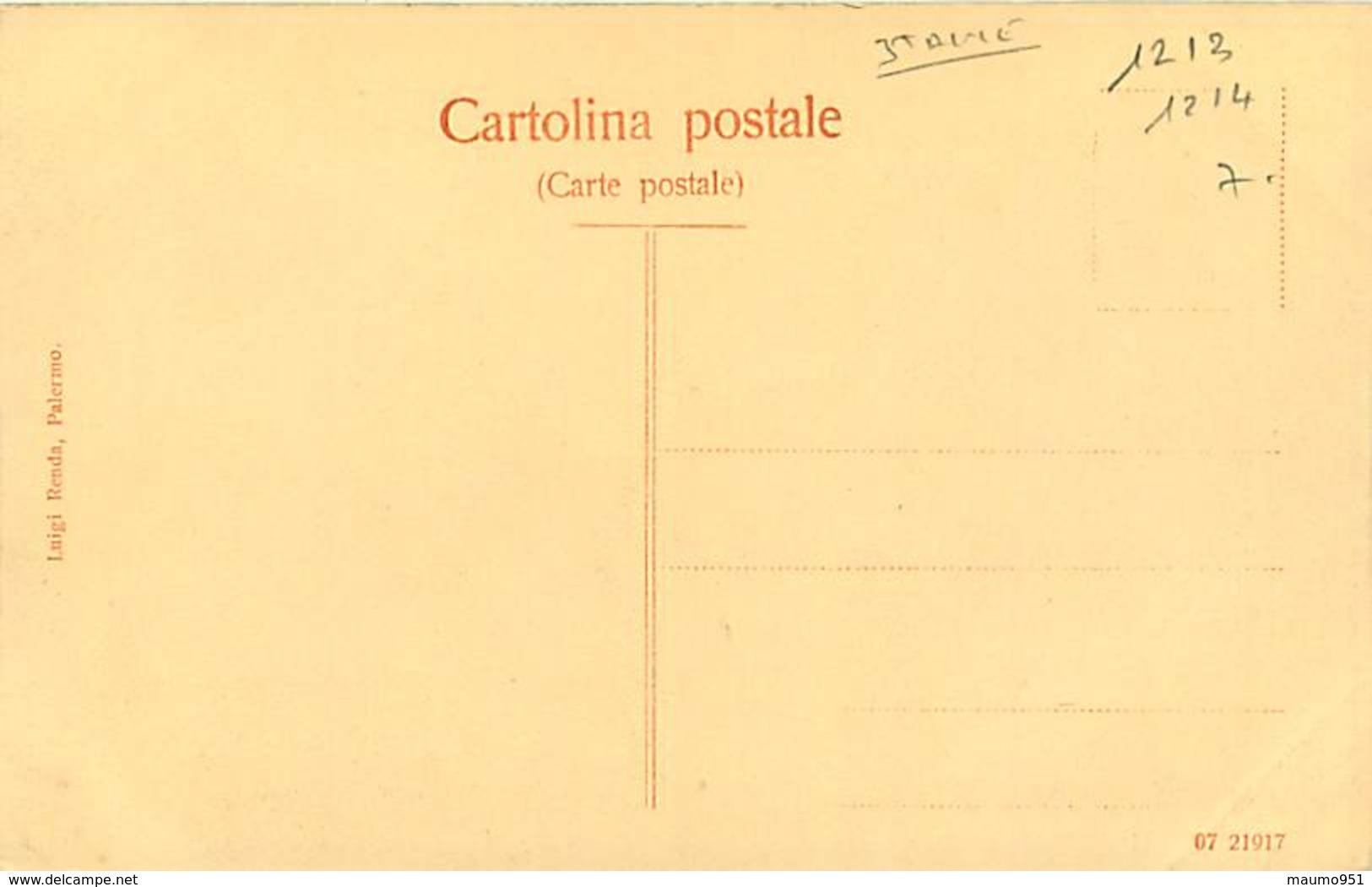 ITALIE TIPI SICILIANI CARRETTO - Other