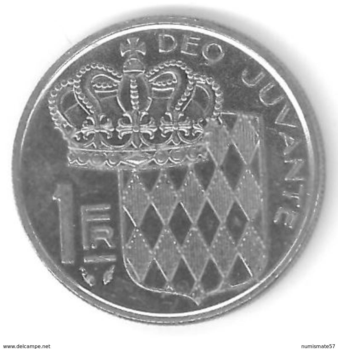 MONACO - 1 FRANC 1979 - RAINIER III PRINCE DE MONACO - 1960-2001 Nouveaux Francs