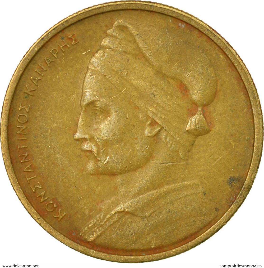 Monnaie, Grèce, Drachma, 1976, TB+, Nickel-brass, KM:116 - Grèce