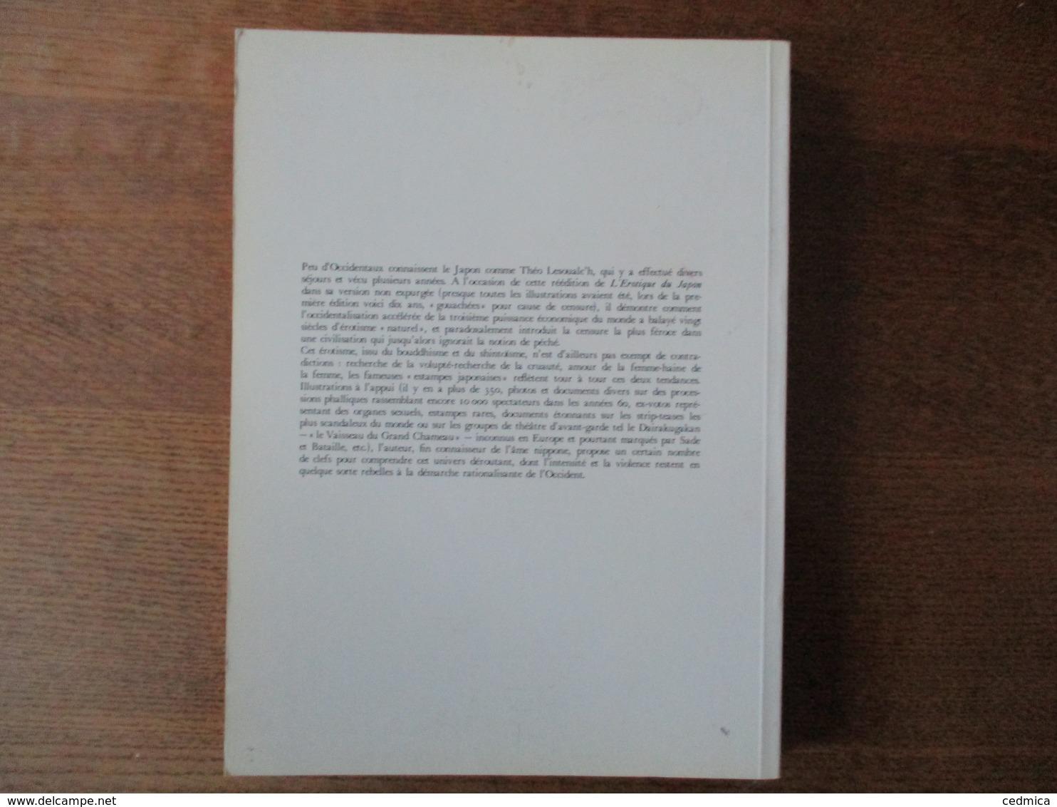 EROTIQUE DU JAPON  THEO LESOUALC'H HENRI VEYRIER 1978 - Art