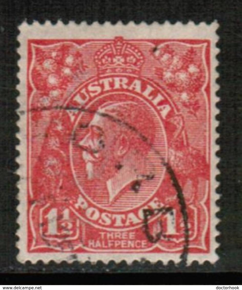 AUSTRALIA   Scott # 26 VF USED (Stamp Scan # 431) - 1913-36 George V: Heads