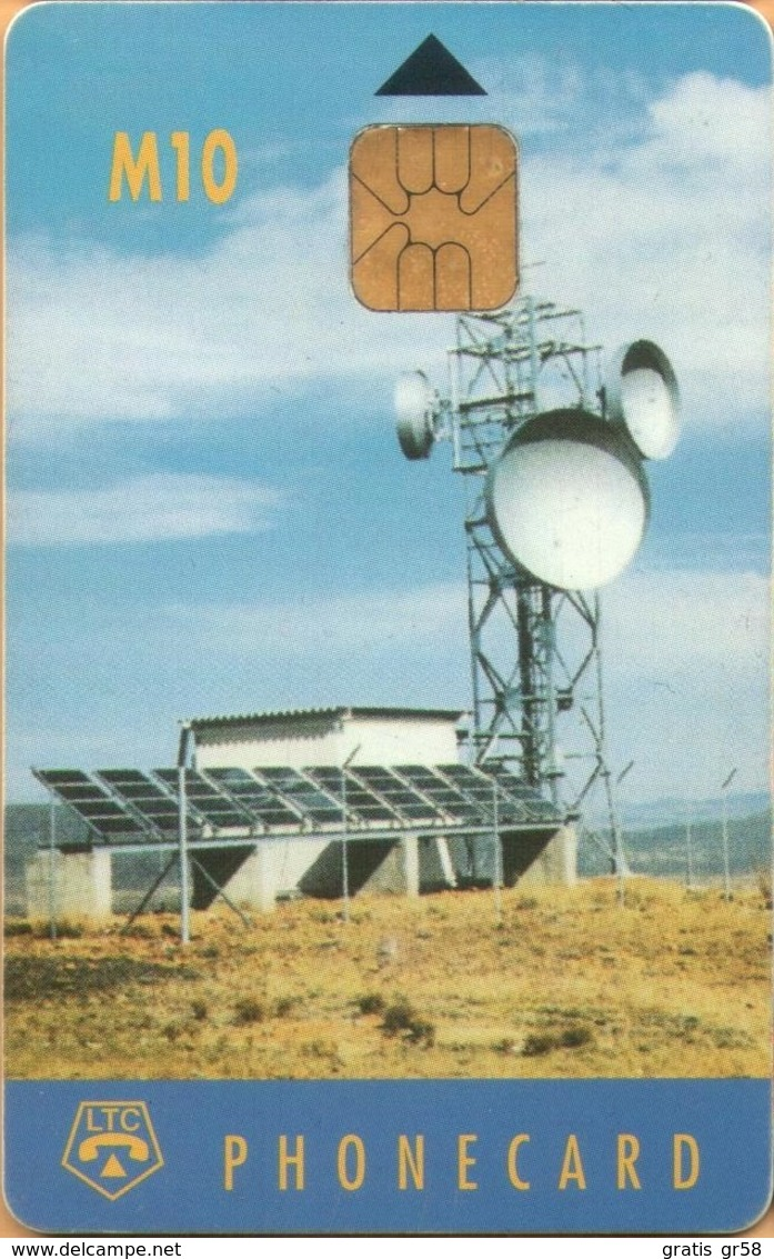 Lesotho - LES-01, Earth Station (Chip IN2), Satellite Dishes, 10 M, Used - Lesotho