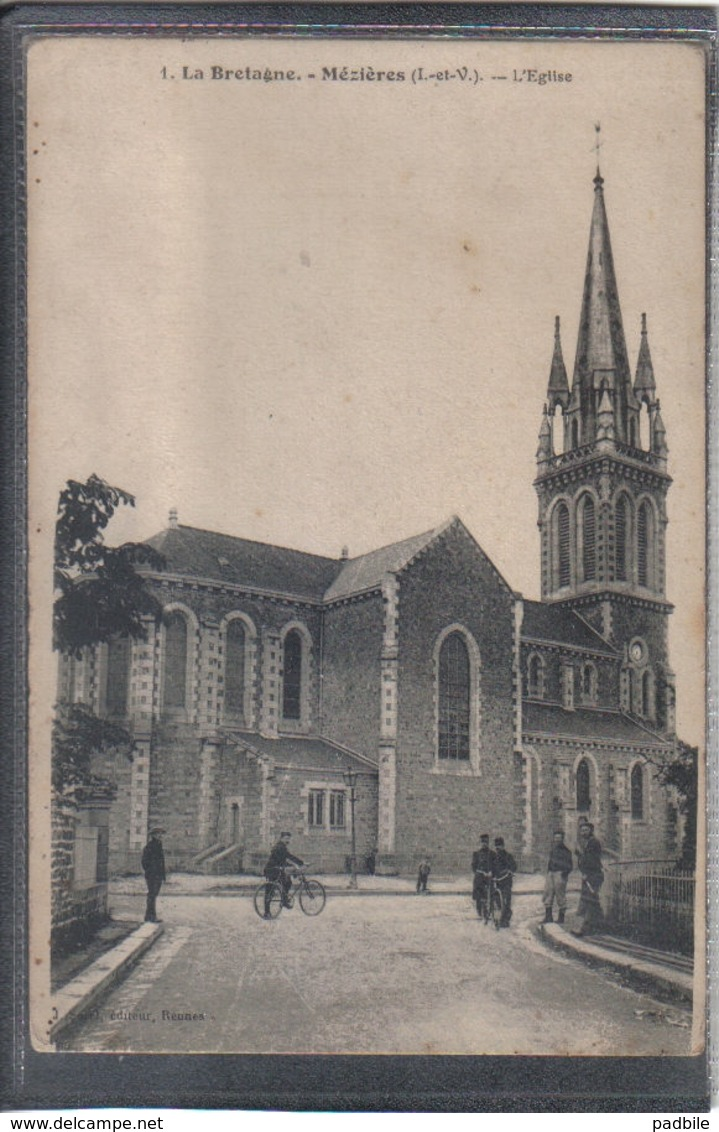 Carte Postale 35. Mézières L'église Très Beau Plan - Other Municipalities