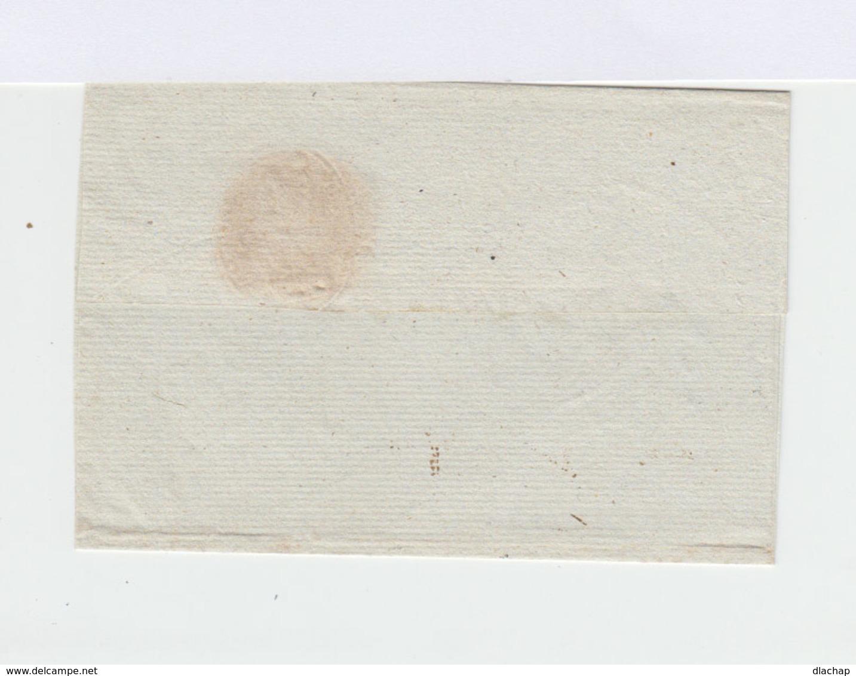 Marque Postale 42 Nantes. En Cursive Département De Loire Inférieure. Oblitération Manuelle. (825) - Marcophilie (Lettres)