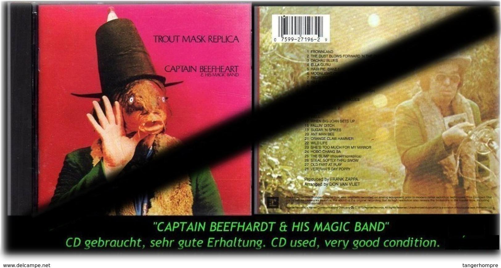 "CAPTAIN BEEFHARDT ""TROUT MASK REPICA"" - Hard Rock & Metal"