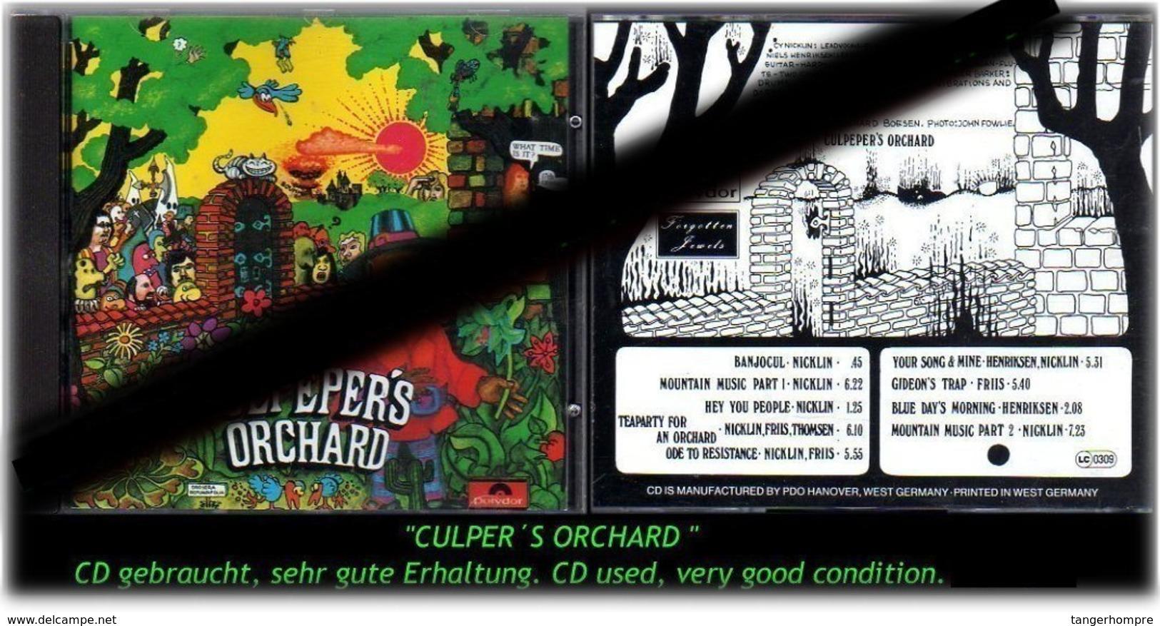 """CULPER S ORCHARD"" - Hard Rock & Metal"