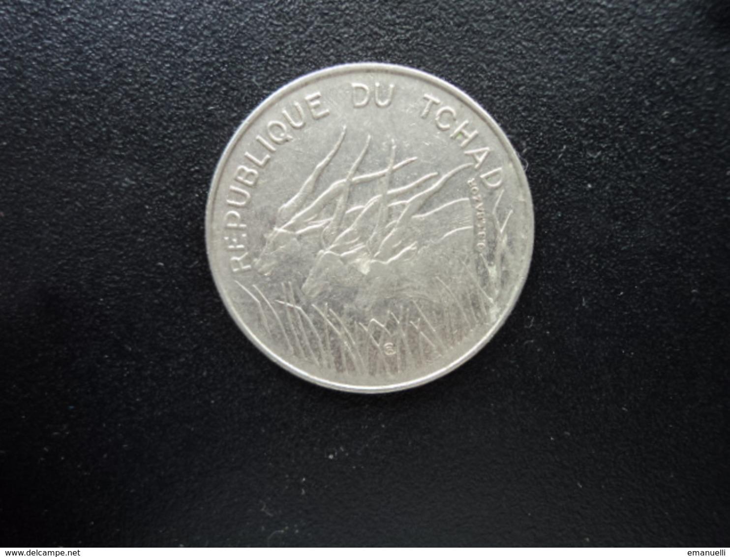 TCHAD : 100 FRANCS   1972    KM 2    SUP - Tchad