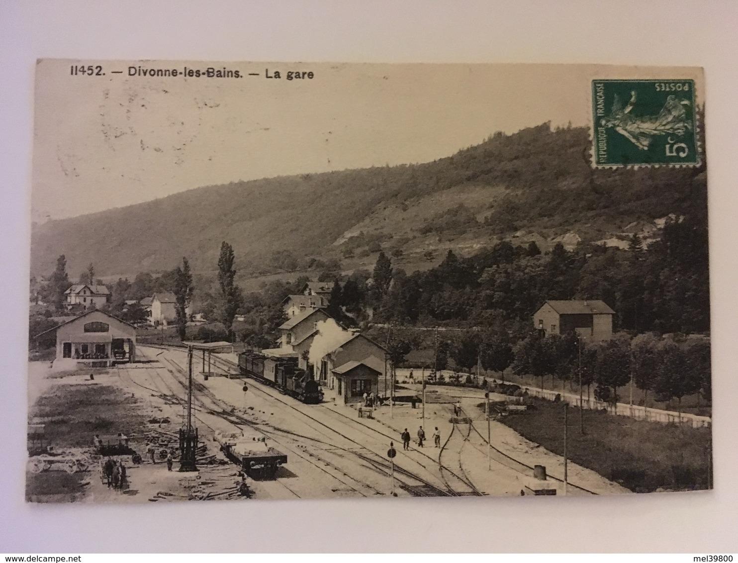 Divonne Les Bains - La Gare - Divonne Les Bains