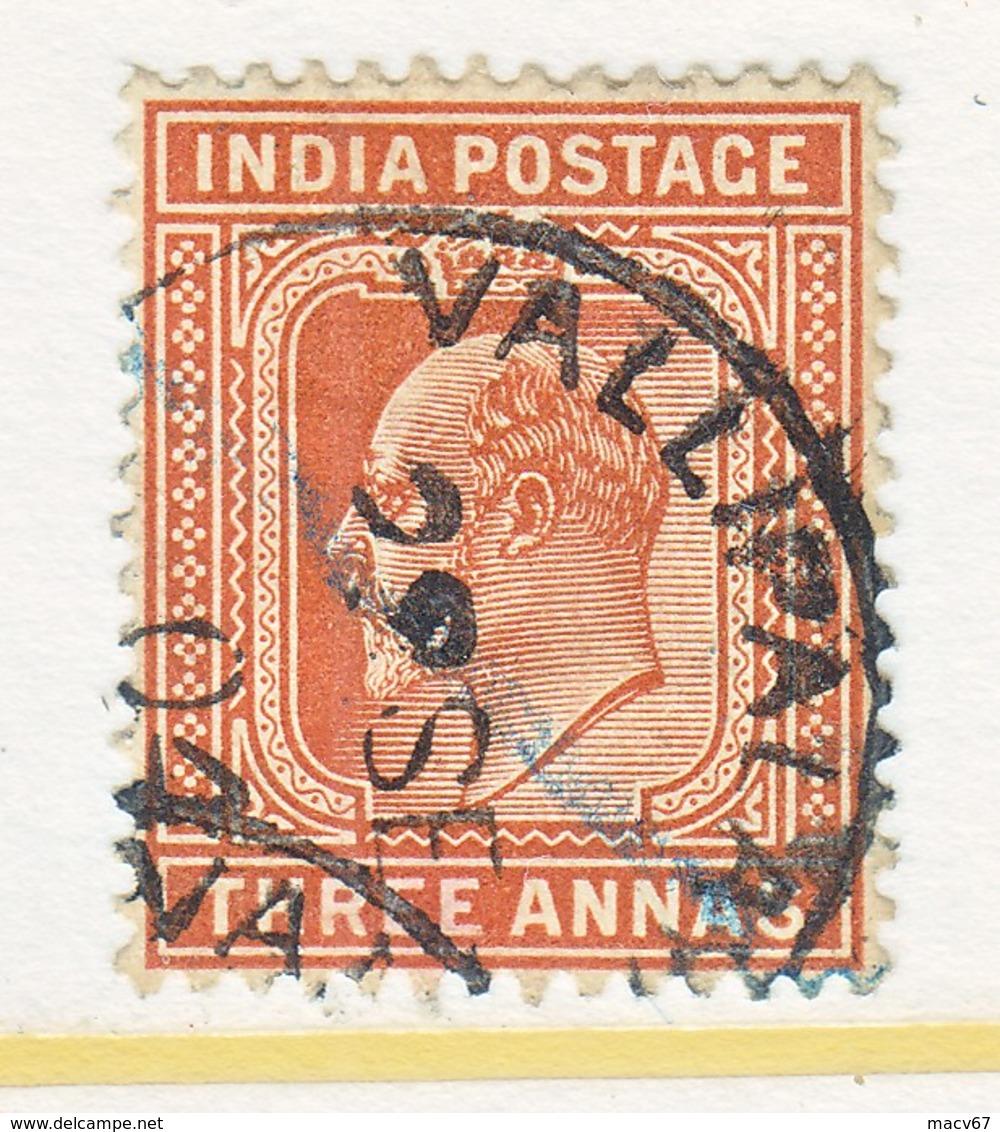 BRITISH  INDIA  65  (o)   EDWARD  VII   Wmk.. STAR - India (...-1947)