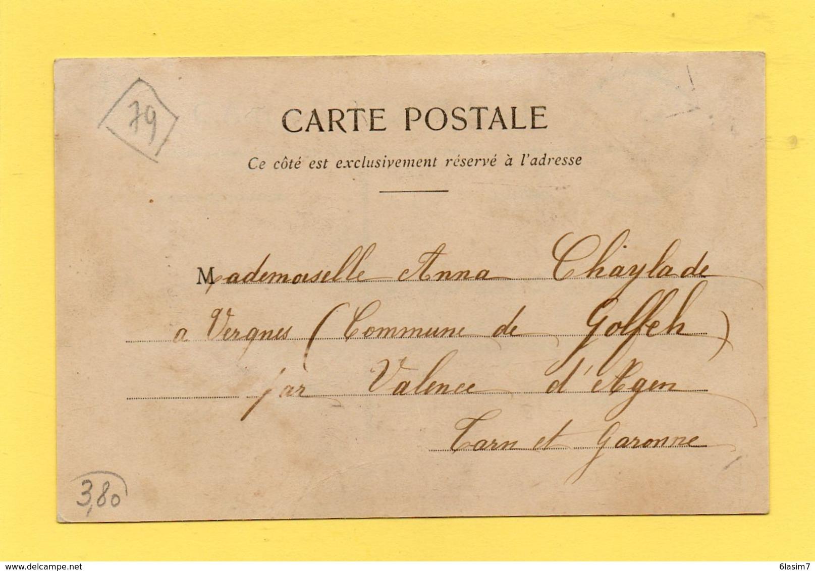 CPA - THOUARS (79) - Aspect De La Côte De Crevant En 1905 - Thouars
