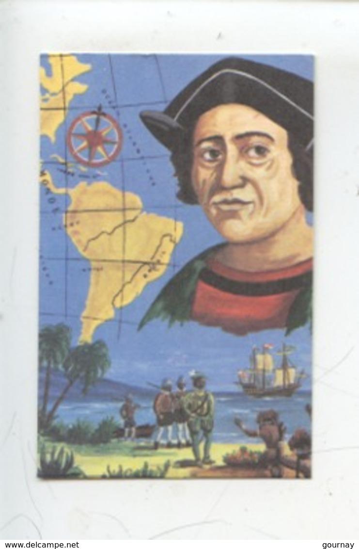 Christophe Colomb Navigateur - Dangé - Les Ormes - Saint Romain Laiterie Coopérative  (n°4) Création M. Cheminade - Andere