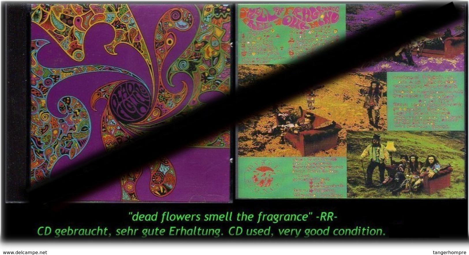 """""""DEAD FLOWERS SMELL THE FRAGANCE""""  -R- - Hard Rock & Metal"""