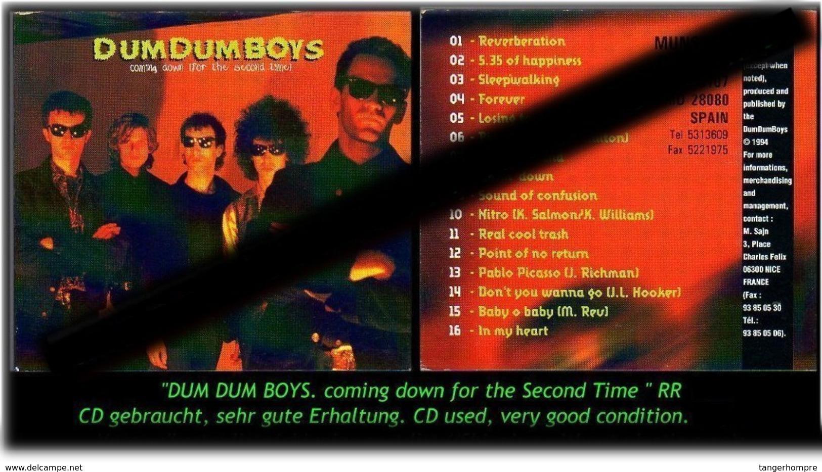 """DUM DUM BOYS"" -RR- - Hard Rock & Metal"