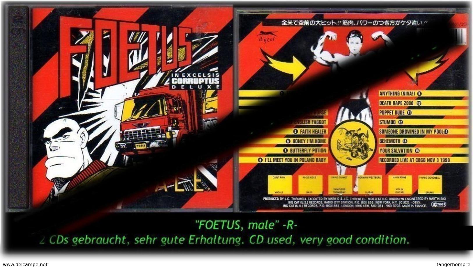 """FOETUS"" MALE -R- - Hard Rock & Metal"