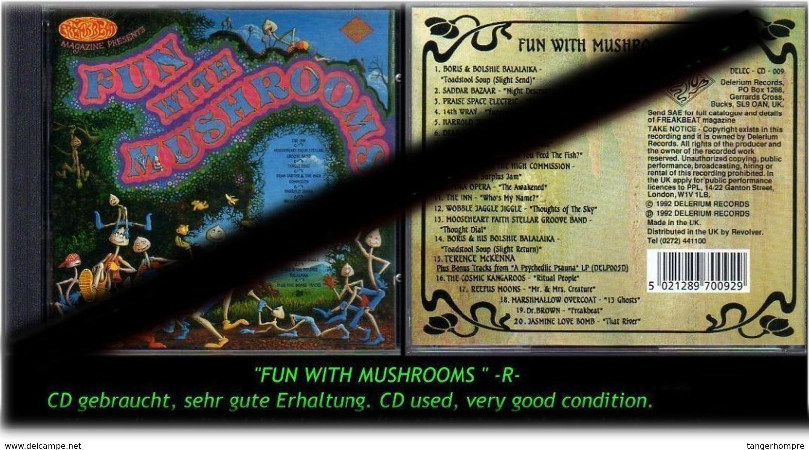 """""""FUN WITH MUSHROOMS"""" 1996 -R- - Hard Rock & Metal"""