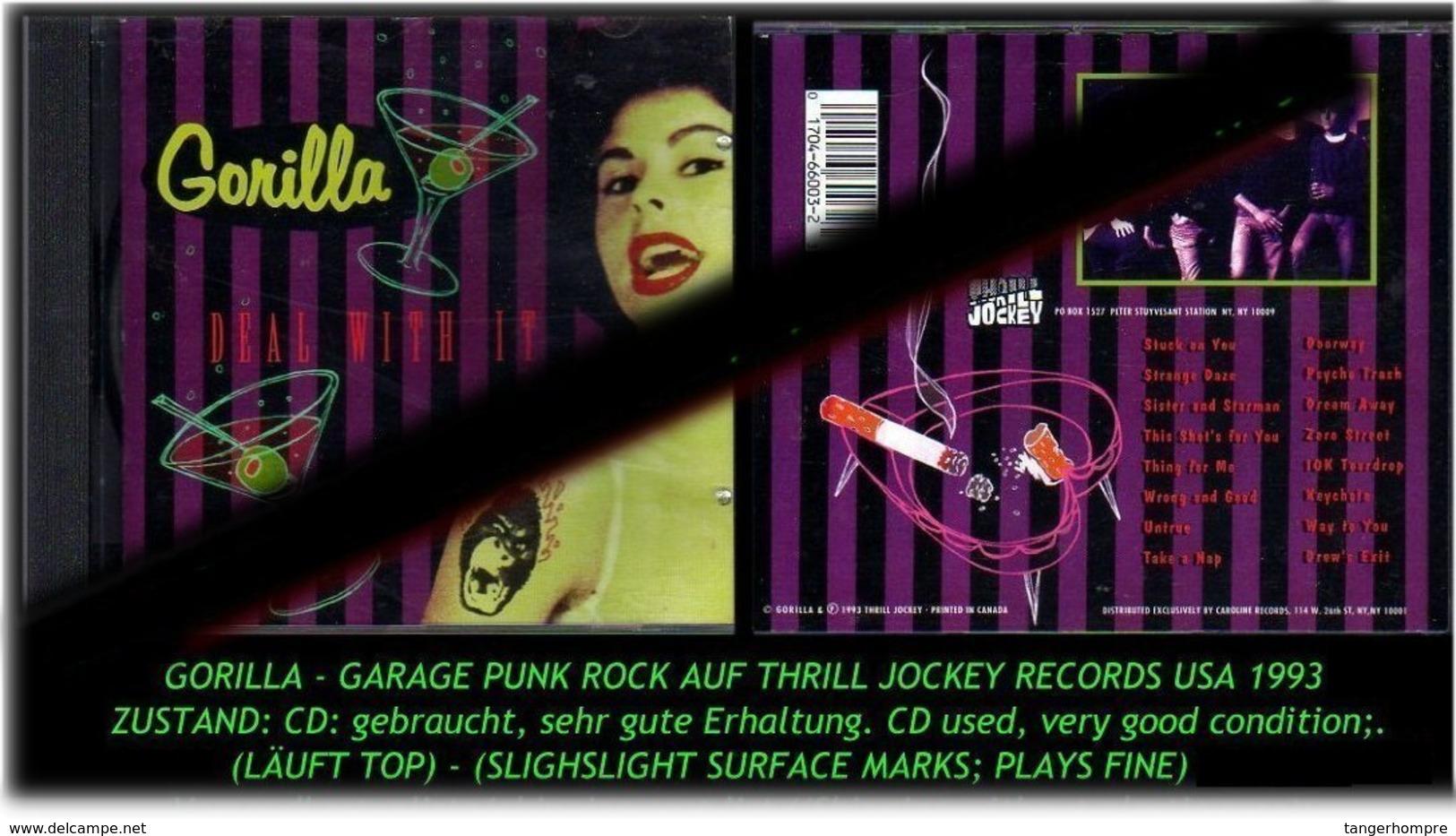 """""""GORILLA"""" GARAGE PUNK ROCK - 1993 -R- - Hard Rock & Metal"""