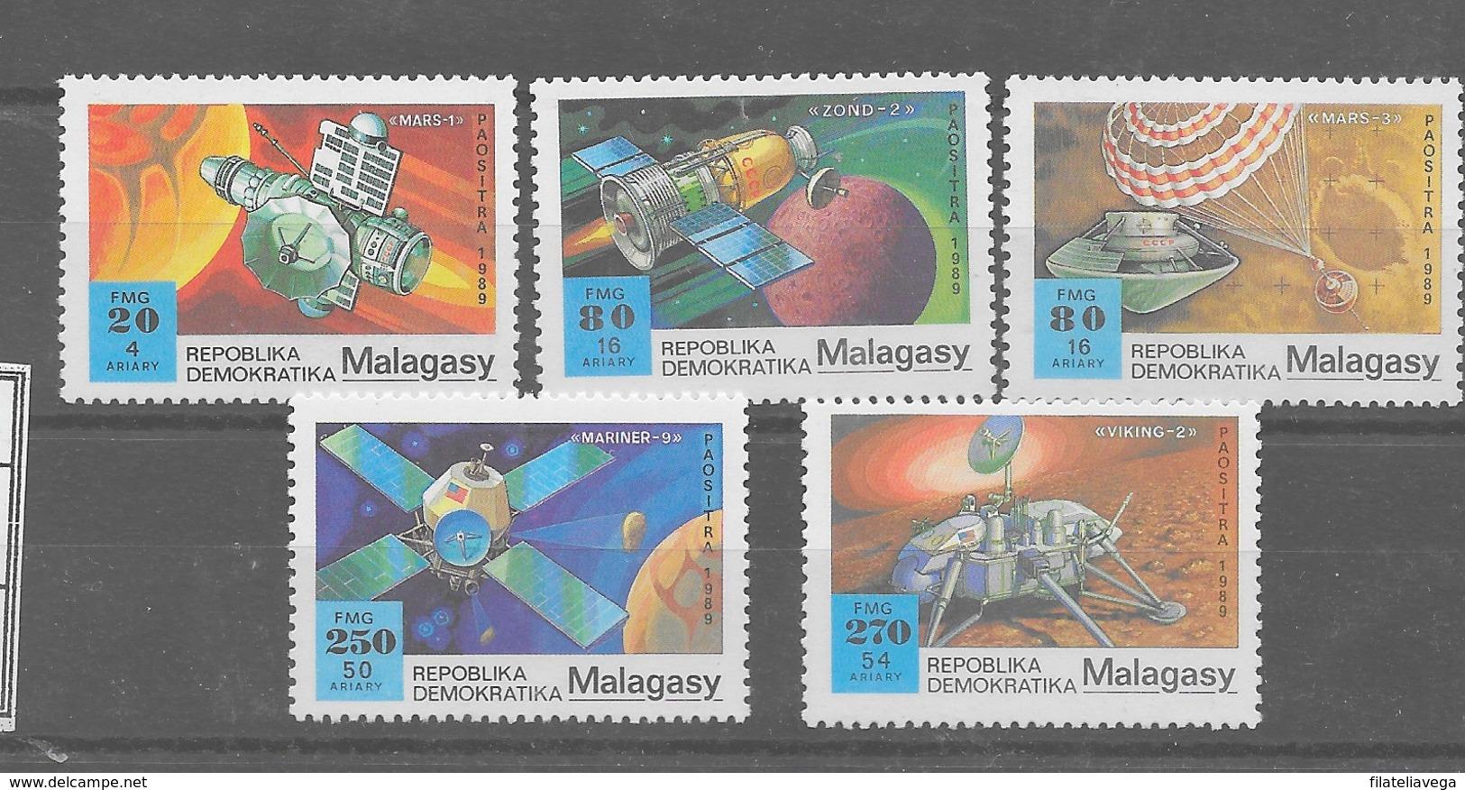 Serie De Madagascar Nº Yvert 929/33  ESPACIO (SPACE) - Madagascar (1960-...)