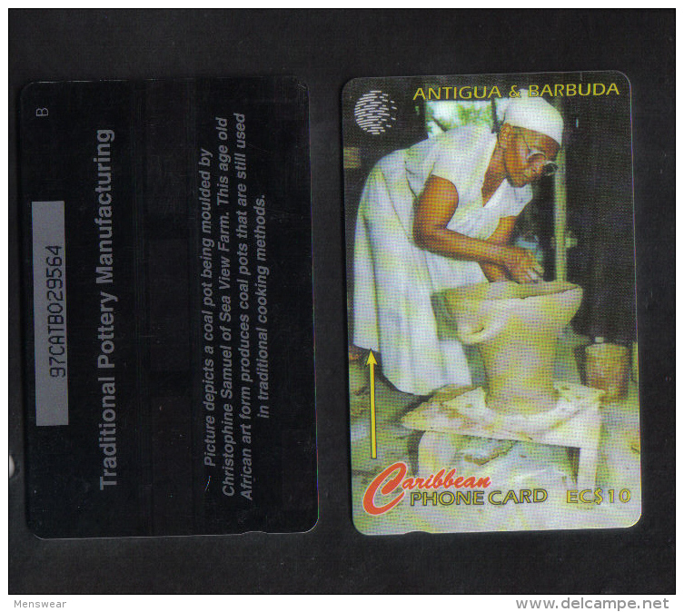 CARIBBEAN PHONECARD EC$10 - ANTIGUA & BARBUDA - Tarjetas Telefónicas