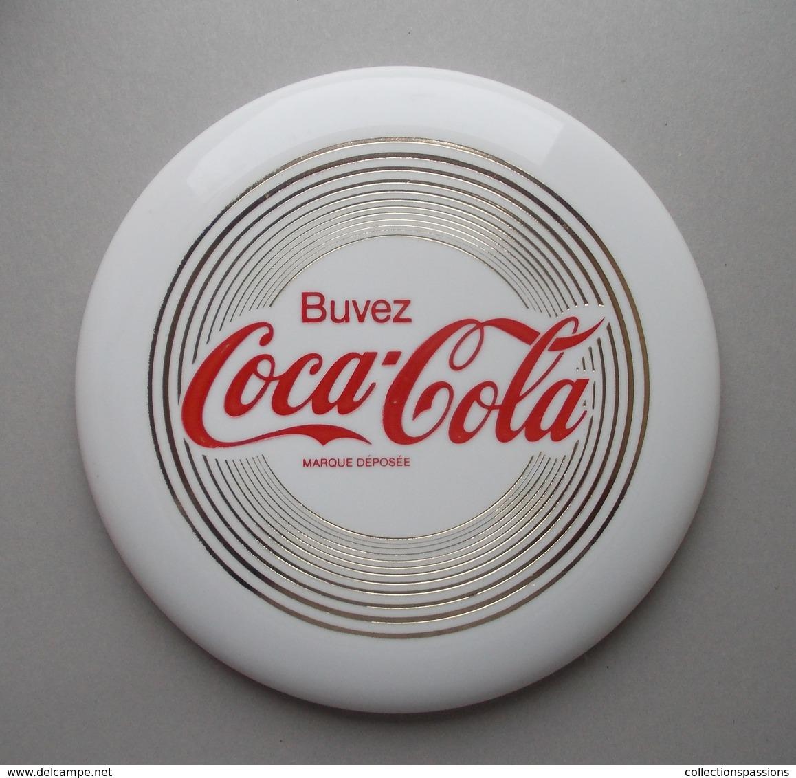 - Frisbee. COCA COLA - Scandia. Made In Denmark - - Toys