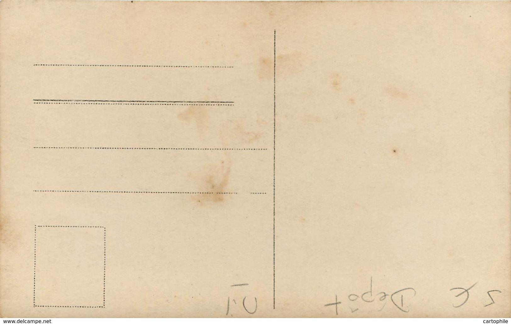 MILITARIA - Carte Photo De Soldats Et Officiers Allemands - Indication Manuscrite : Abbaye 24/7/1916 - Guerre 1914-18