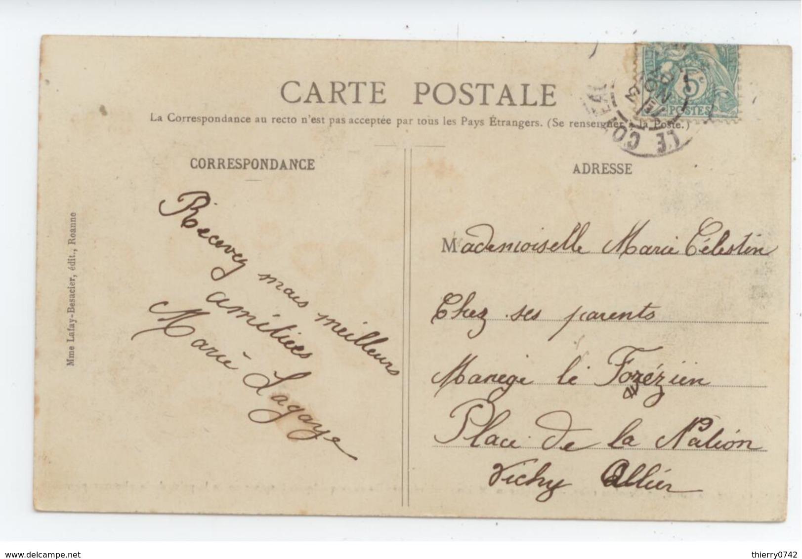 CPA 1907 LOIRE ROBINSON ANIME MAISON EMPORTEE PAR LA CRUE DE LA LOIRE BE TBE - Autres Communes