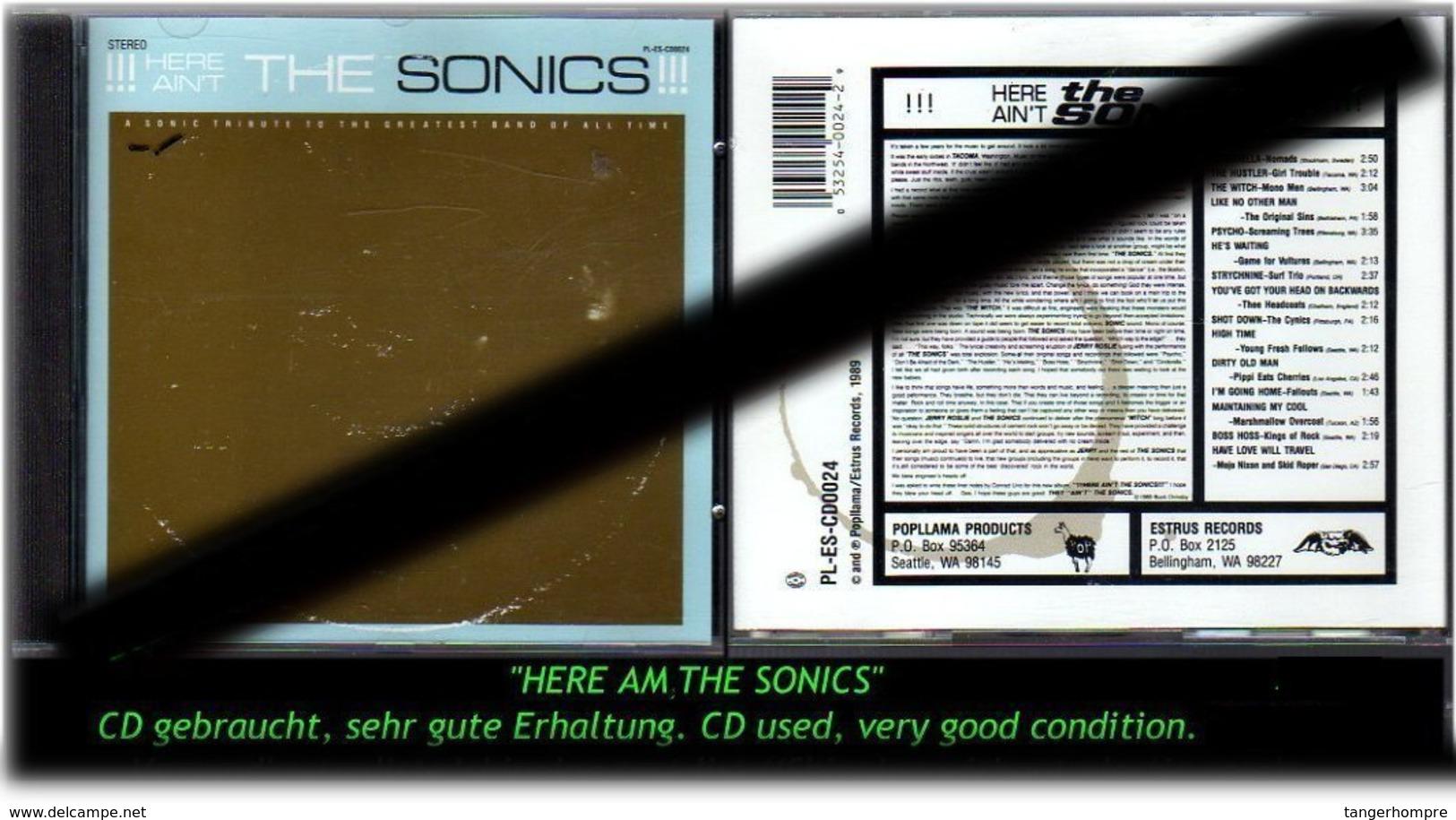"""HERE AM THE SONICS"" - 1989 - - Hard Rock & Metal"
