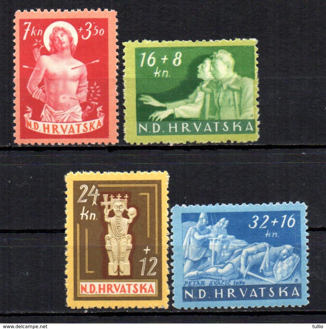 CROATIA 1944 MINT MH - Croatia