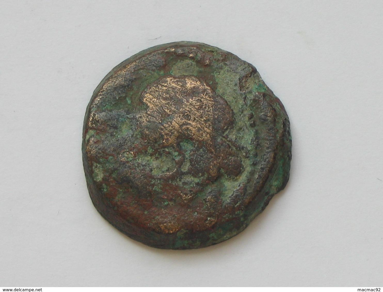 Monnaie Antique à Identifier - Romaine ? Grecque ?   **** EN ACHAT IMMEDIAT ***** - Monnaies Antiques