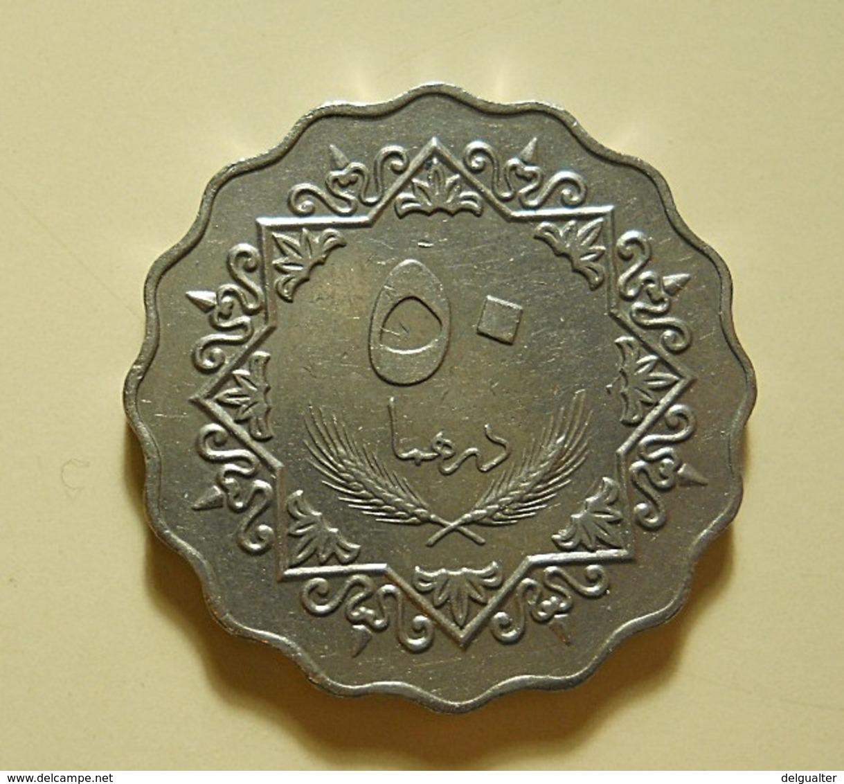 Libya 50 Dirhams 1975 - Libye