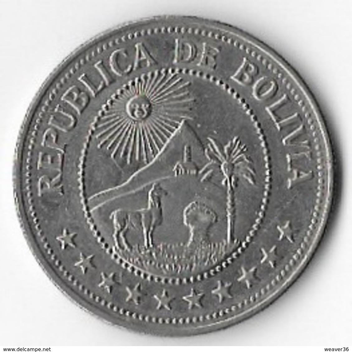 Bolivia 1978 5 Pesos [C700/2D] - Bolivia