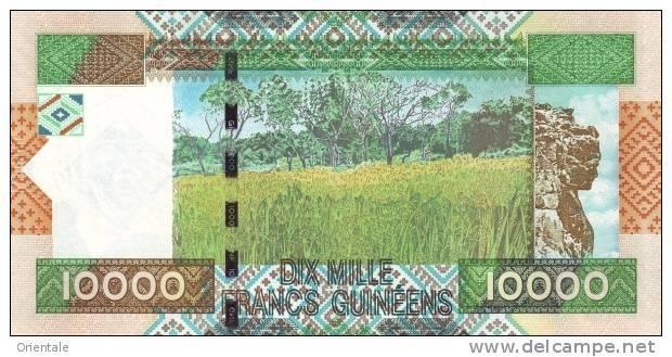 GUINEA P. 42a 10000 F 2007 UNC - Guinée