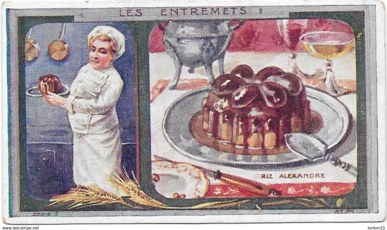 CHROMO Ets AU PLANTEUR De CAIFFA - Riz Alexandre Carte N°26 - BARA - - Trade Cards