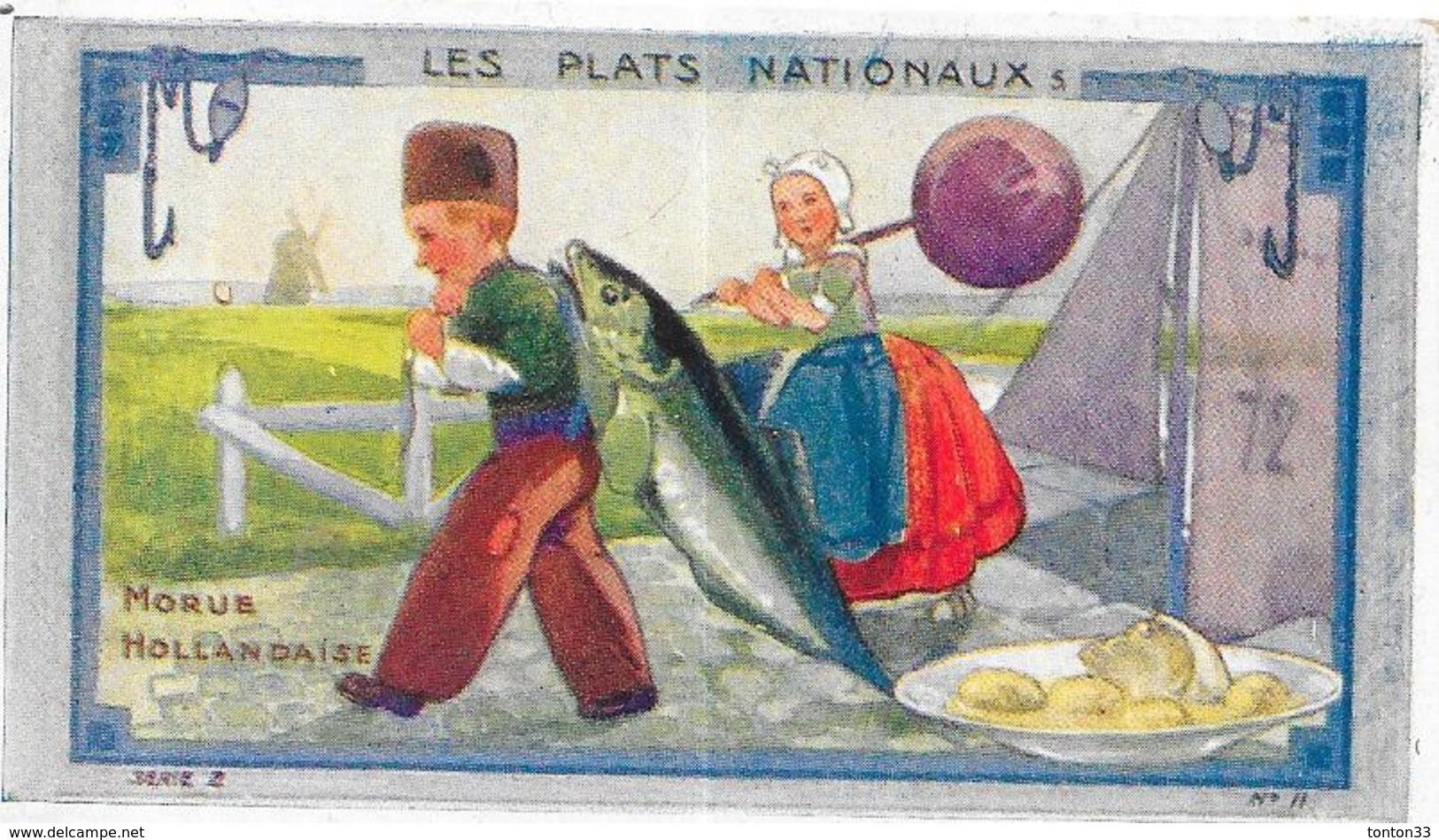 CHROMO Ets AU PLANTEUR De CAIFFA - Morue Hollandaise  Carte N°11 - BARA - - Trade Cards