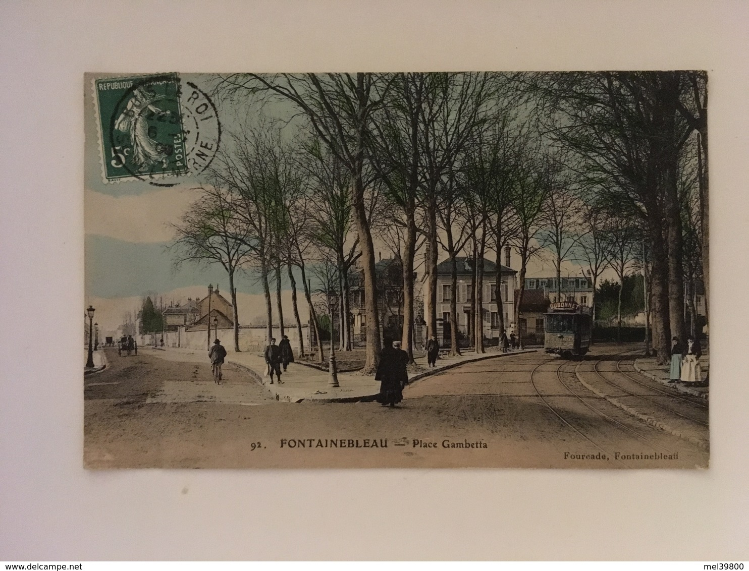 Fontainebleau - Place Gambetta - Fontainebleau