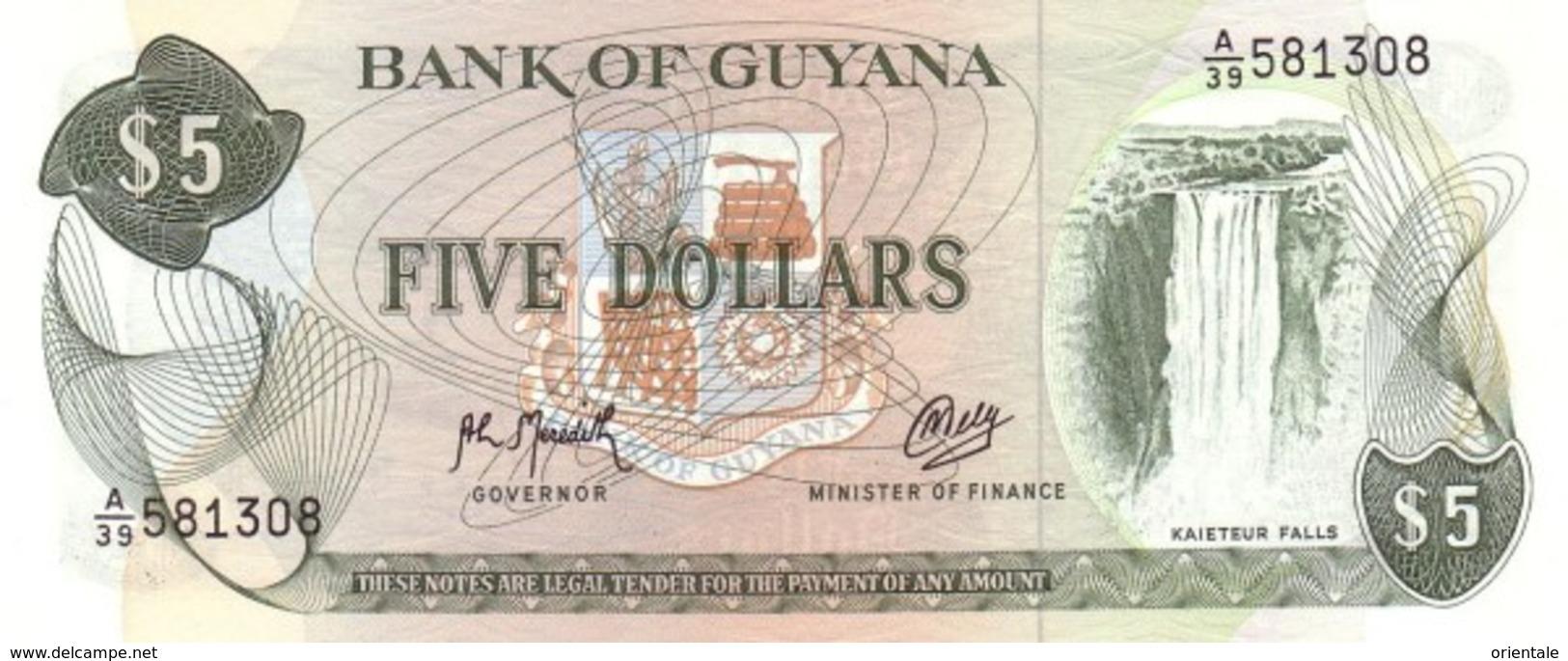 GUYANA P. 22f 1 D 1992 UNC - Guyana