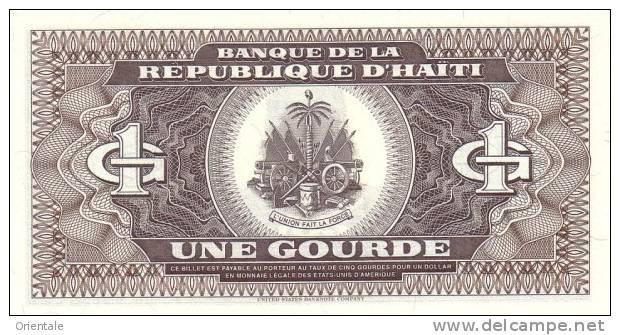 HAITI P. 253a 1 G 1989 UNC - Haiti