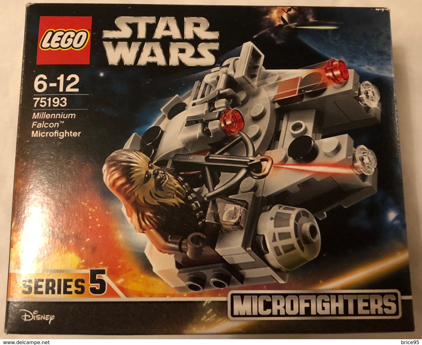 Lego Star Wars - Set Nº 75193 - Neuf Ouvert - Lego