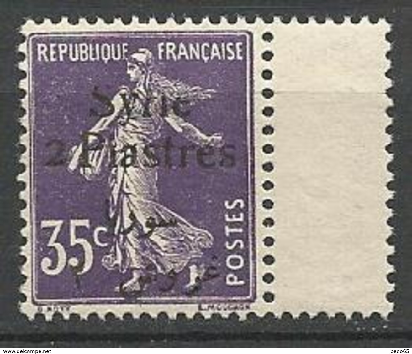 SYRIE  N° 134 NEUF**  SANS CHARNIERE / MNH - Syria (1919-1945)