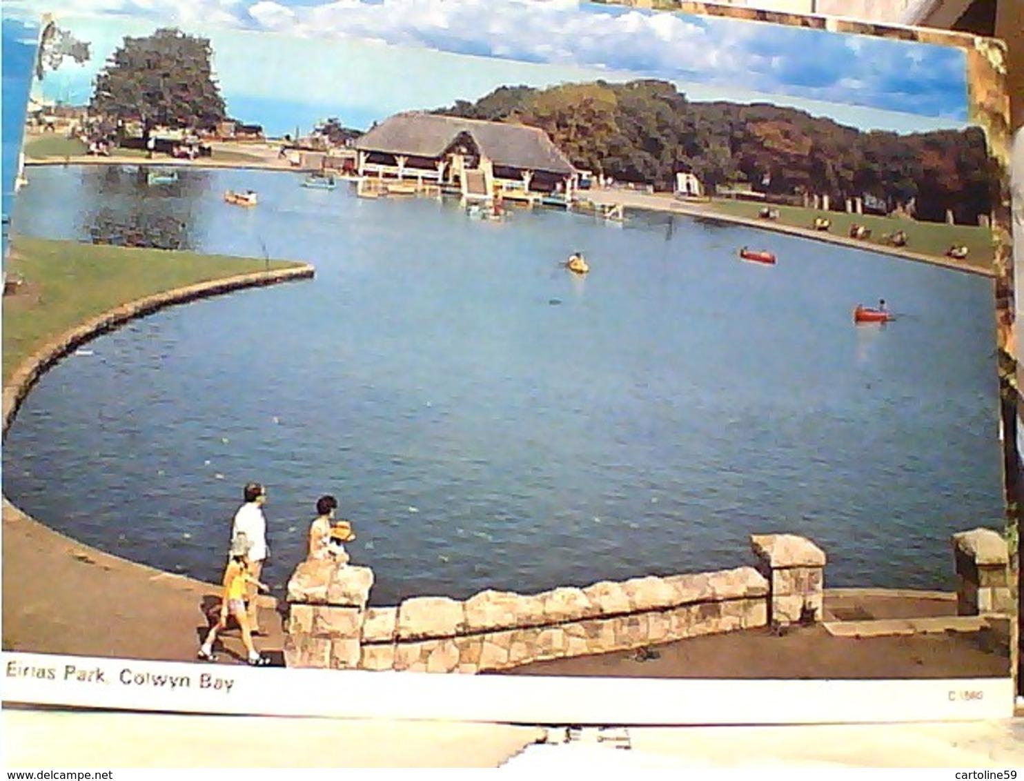 Wales - Eirias Park, Colwyn Bay  STAMP TIMBRE  SELO 18 P DERWENTWATER ENGLAND  GX5627 - Denbighshire