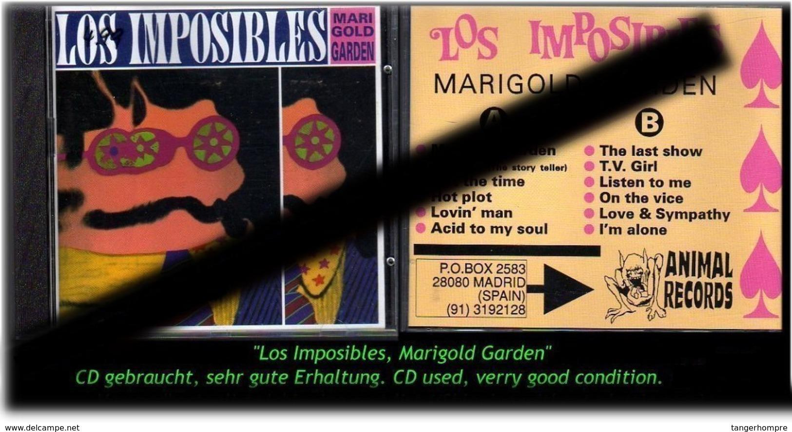 """""""LOS IMPOSIBLES"""" MARIGOLD GARDEN - Hard Rock & Metal"""