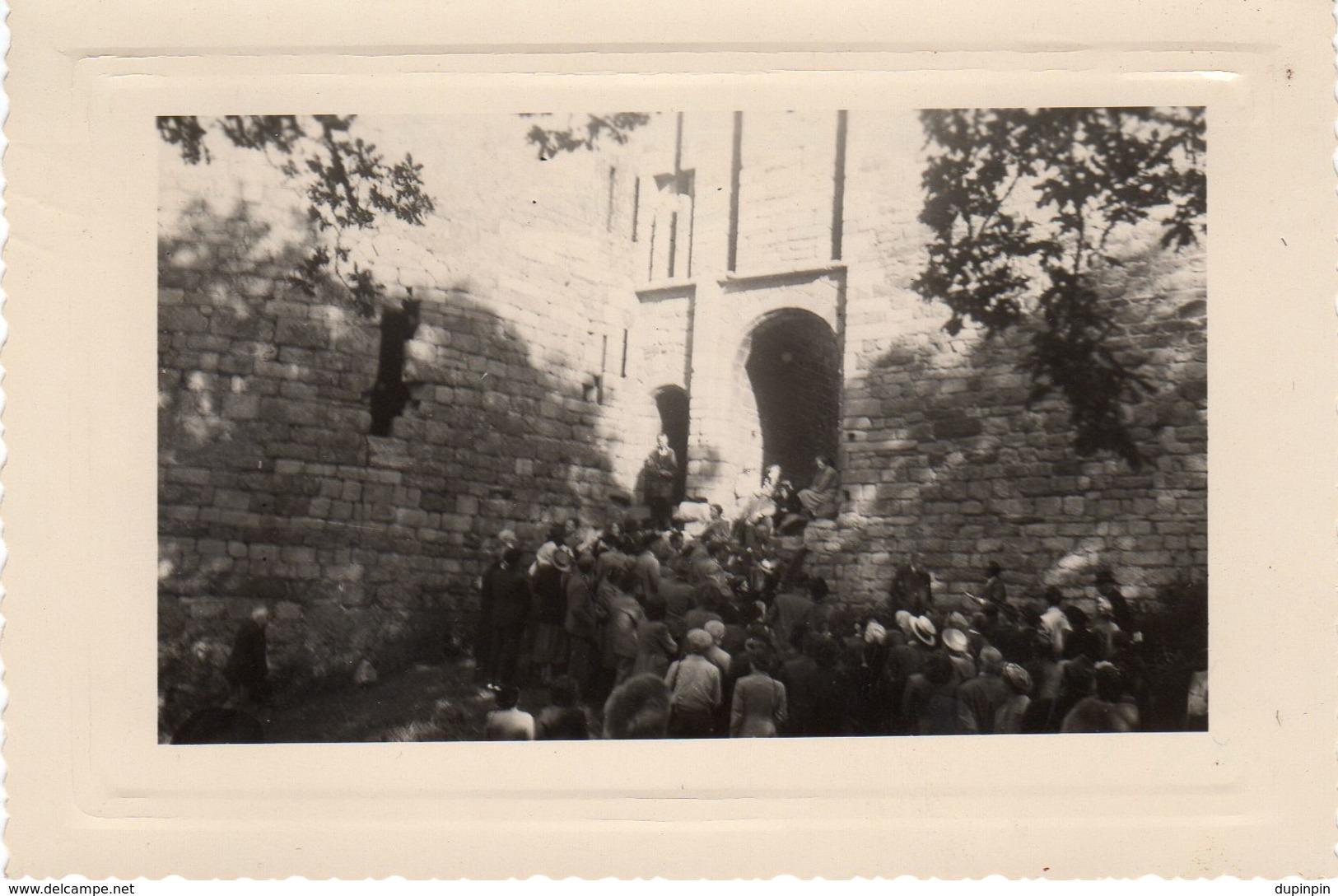 Congrès Archéologique - Château De La Hunaudaye En Juin 1969 - Lieux